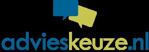 Advieskeuze logo liggend CMYK